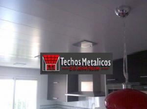 Techo aluminio cocinas
