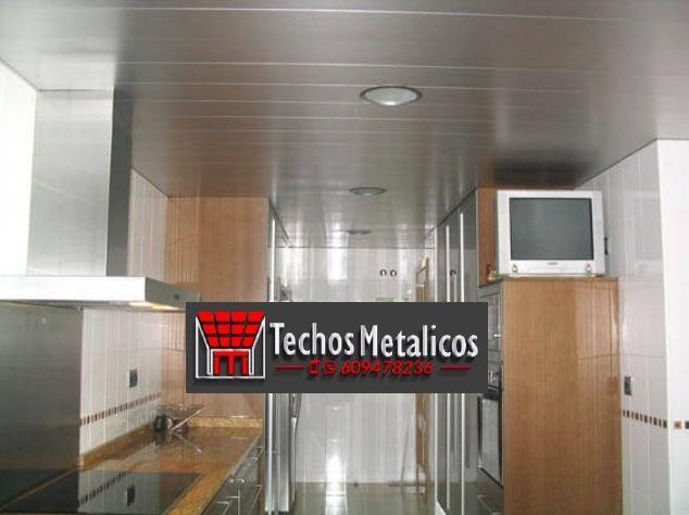 Techos lamas aluminio