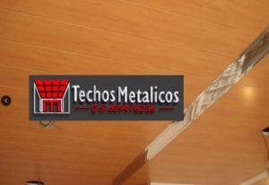 Techos lamas aluminio decorado