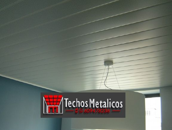 Carpintería aluminio techos de aluminio