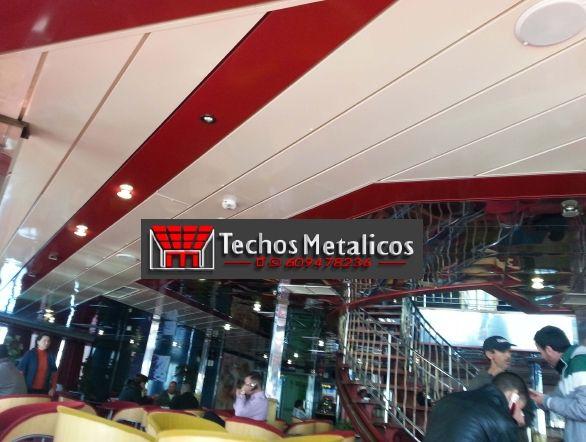 Carpintería aluminio techos metálicos