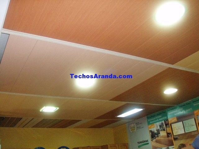 Carpintería metálica techos desmontables