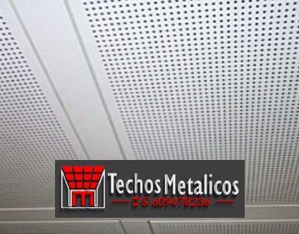 Carpintería metálica techos registrables