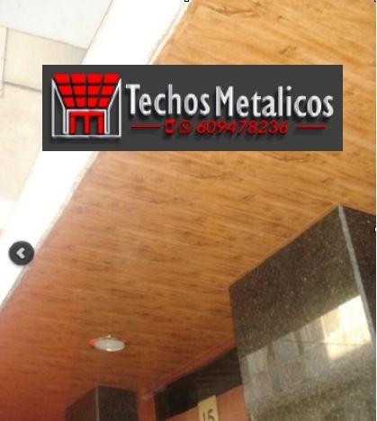 Carpinterías aluminio techos metálicos