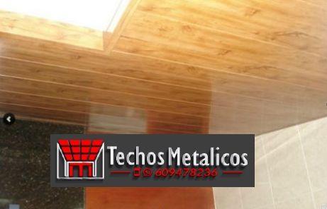 El mejor precio de montadores techos desmontables