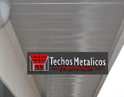 El mejor precio de techos metálicos