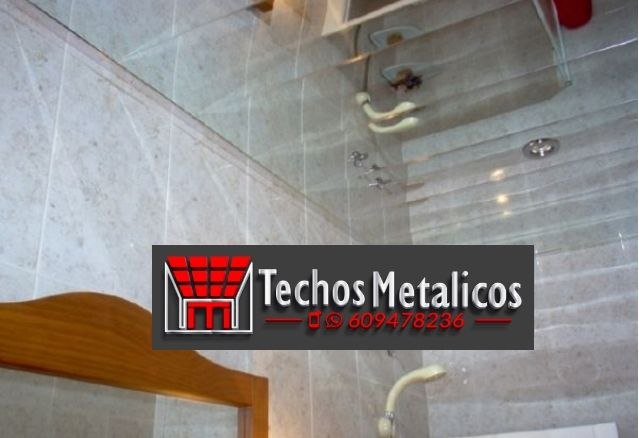 Empresa de techos de aluminio acústicos para baños