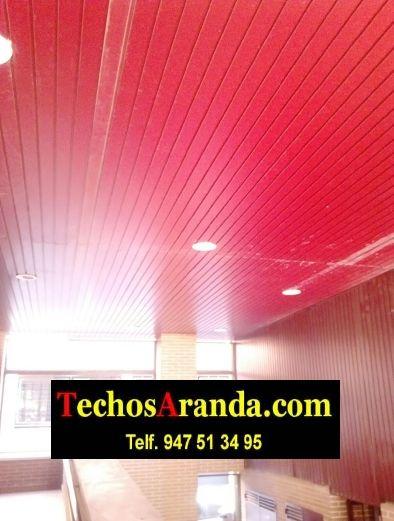 Empresa local de techos registrables