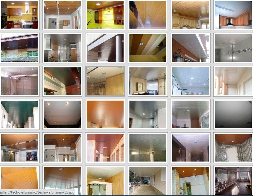 Imagen de techos de aluminio acústicos para baños