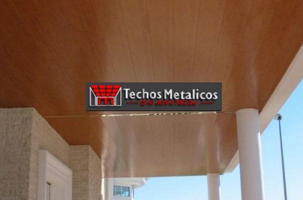 Negocio de montadores techos metálicos