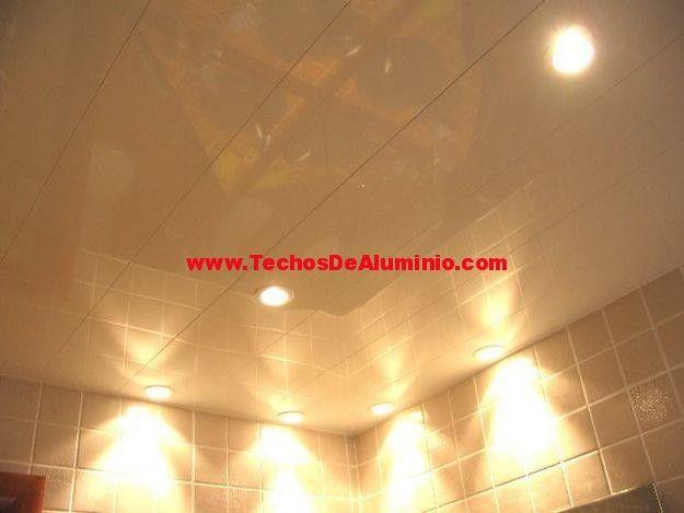 Negocio de techos de aluminio acústicos para baños