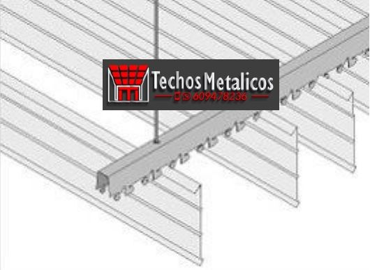 Oferta de techos metálicos