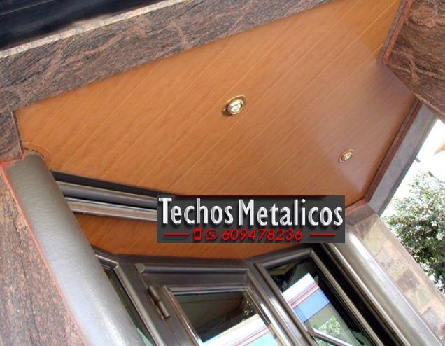 Oferta económica Montaje Techos Aluminio