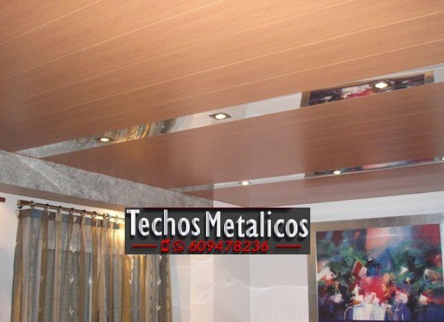 Oferta económica empresa techo aluminio lacado