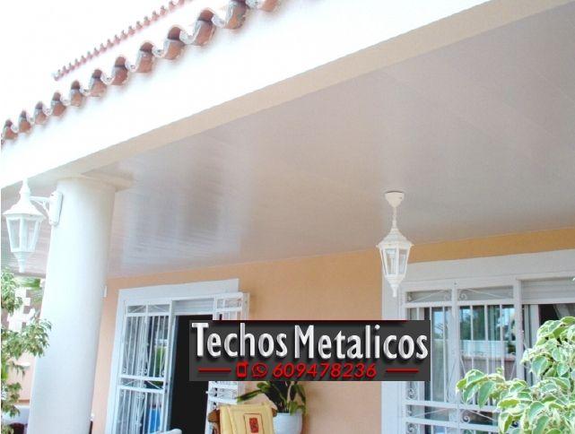 Oferta económica montadores techos de aluminio lacados