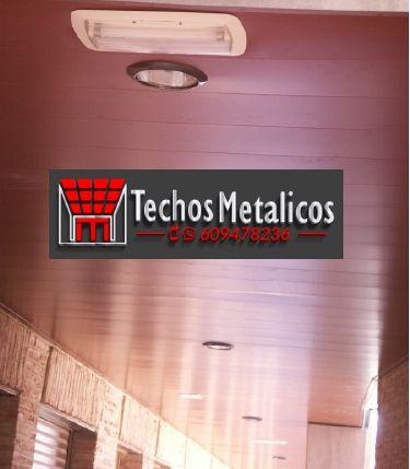 Oferta económica techos metálicos