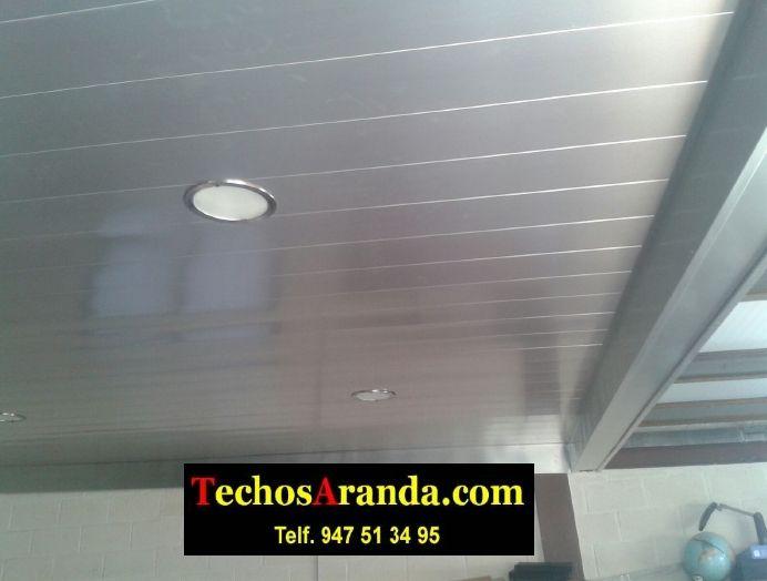 Oferta empresa techo aluminio lacado