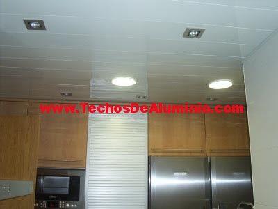 Oferta empresa techos aluminio lacados