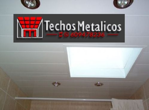 Oferta techos registrables