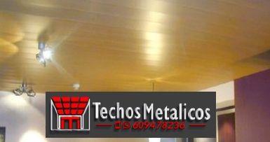 Ofertas económicas Techos Aluminio Bailén
