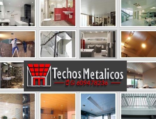 Ofertas economicas instaladores de techos de aluminio