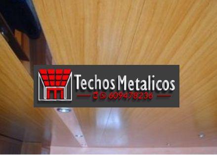 Ofertas económicas Techos Aluminio Campello