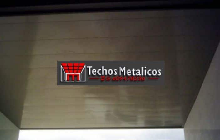 Ofertas económicas Techos Aluminio Llanera
