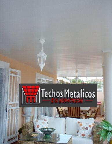 Ofertas económicas Techos Aluminio Los Realejos