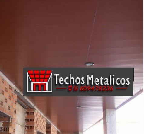 Ofertas económicas Techos Aluminio Mahón