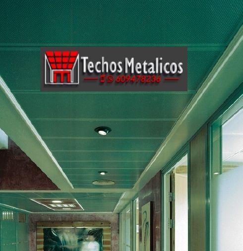Ofertas económicas Techos Aluminio Mula