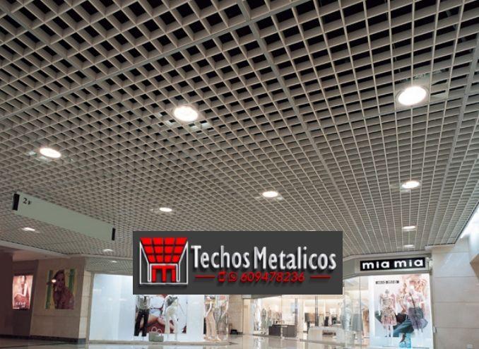 Empresa instaladores de techos de aluminio