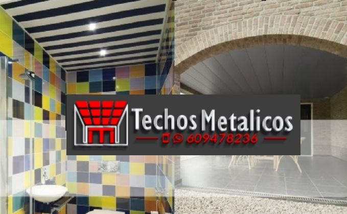 Ofertas económicas Techos Aluminio Paiporta