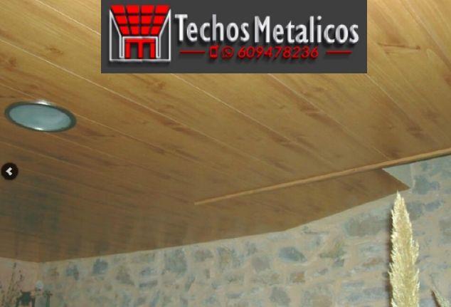 Ofertas económicas Techos Aluminio Santa Eulalia del Río