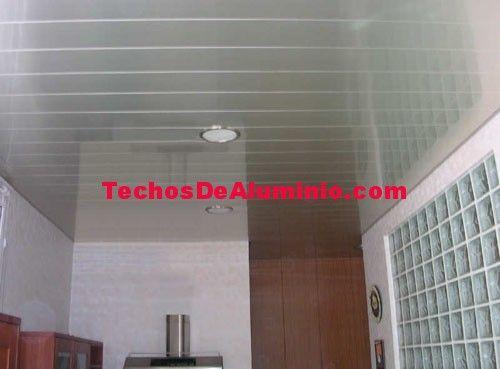 Precio economico instaladores de techos de aluminio