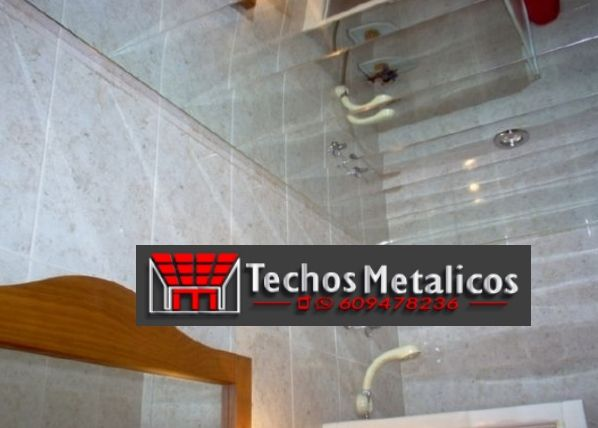 Techo de aluminio La Nucia