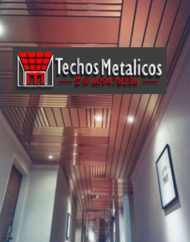 Ofertas económicas Techos Aluminio Villagarcía de Arosa