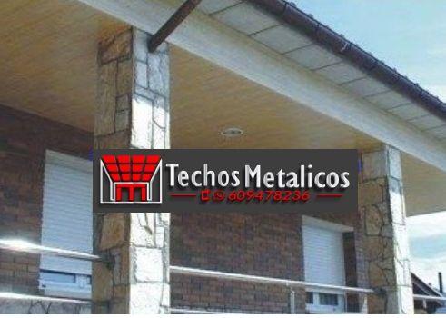 Ofertas económicas Techos Aluminio Zarautz