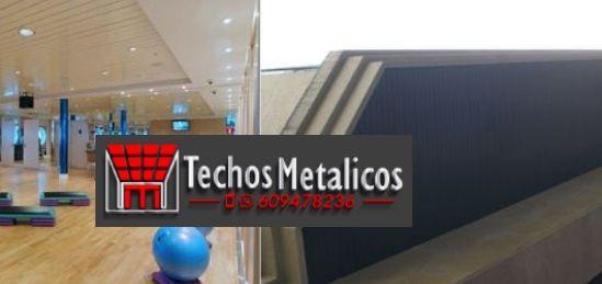 Ofertas montadores techos metálicos