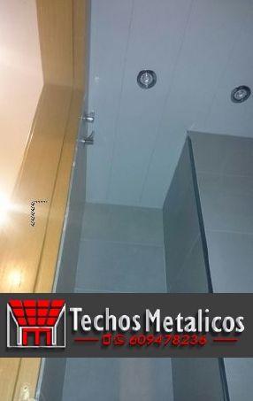 Pagina web de techos de aluminio acústicos para baños