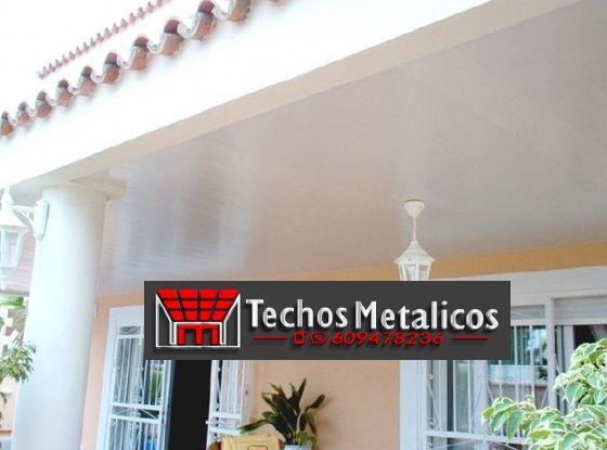 Precio de instaladores de techos de aluminio