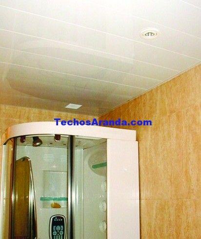 Precio de techos de aluminio acústicos para baños
