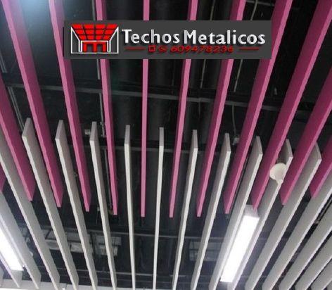 Precio economico de techos metálicos