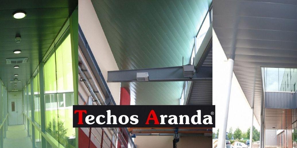 Precio económico de venta techos de aluminio