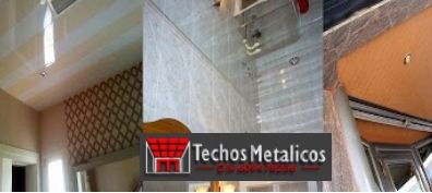 Precio económico empresa techos aluminio
