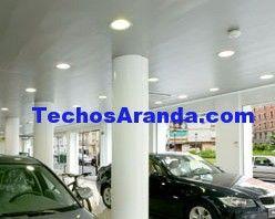 Precios económicos empresa techos aluminio