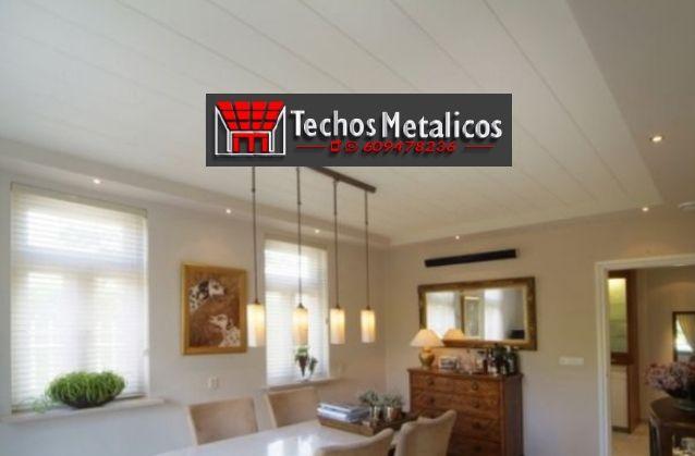 Precios económicos montadores techos metálicos