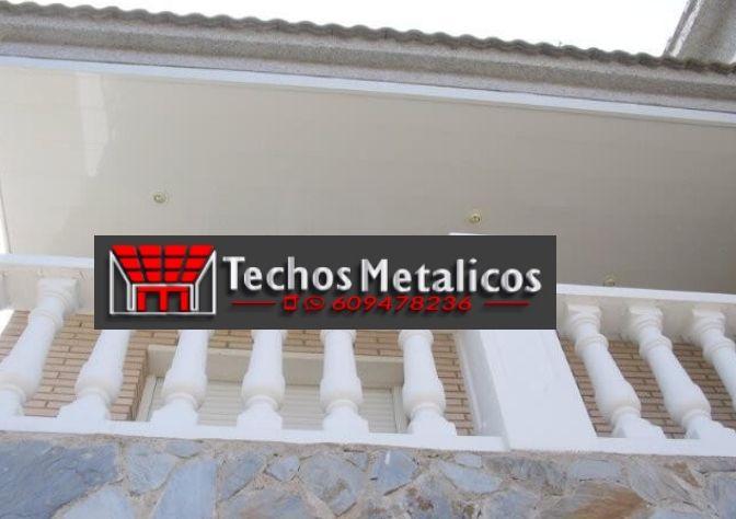 Precios empresa techos aluminio