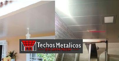 Precios montadores techos metálicos