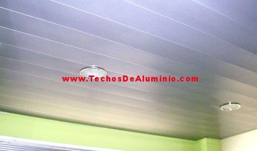 Precios venta techos de aluminio