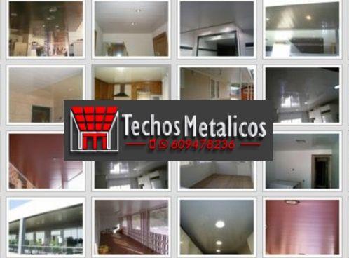 Presupuesto de techos de aluminio acústicos para baños